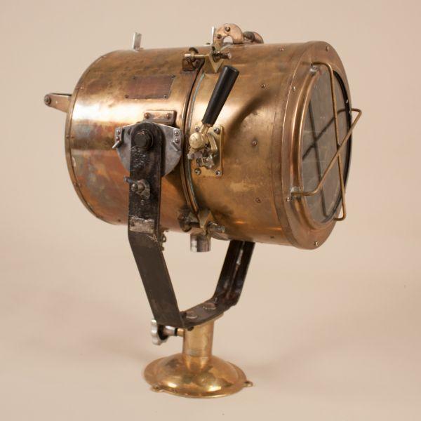 Vintage Brass Daylight Signaling Lamp