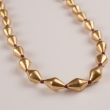 18-Karat Gold Over Wax Bead Strand Necklace