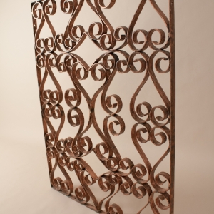 Copper Window Grate or Guard, Circa 1920