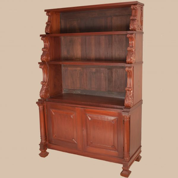 Early 20th Century Indo-Portuguese Hutch or Display Case