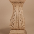 Pair of Mid-Century White Marble Pedestals or Stands