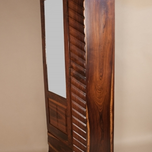 Deco Rosewood Wardrobe with Mirror