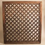Large Elm Wood Carved Wall or Ceiling Panel