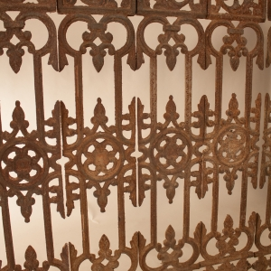 19th Century Iron Balusters from India