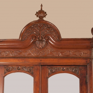 Early 20th Century Anglo-Indian Mahogany Armoire