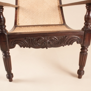 Antique British Colonial Plantation Chair
