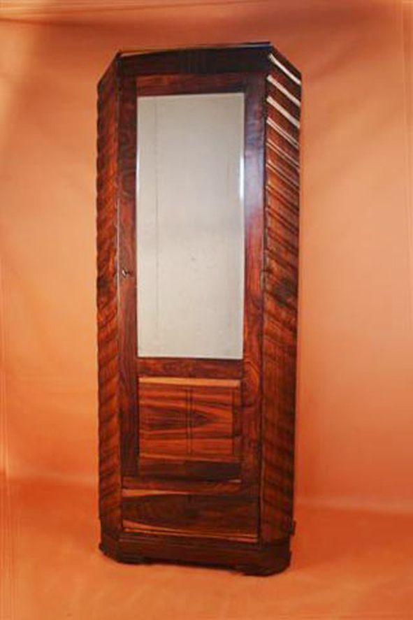 british colonial deco style wardrobe fair trade antiques. Black Bedroom Furniture Sets. Home Design Ideas