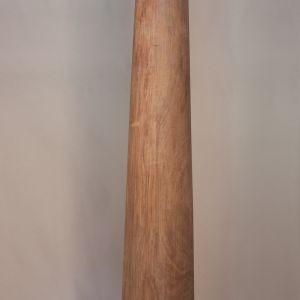 Pair of Late 19th Century Satin Wood Columns