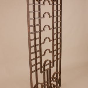 Decorative Wrought Iron Window Grill