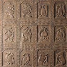 Antique Carved Folk Art Panel