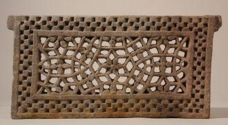 19 c. Pierced Sandstone Jali