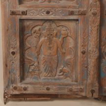 19 c. Hand Carved Doors from India